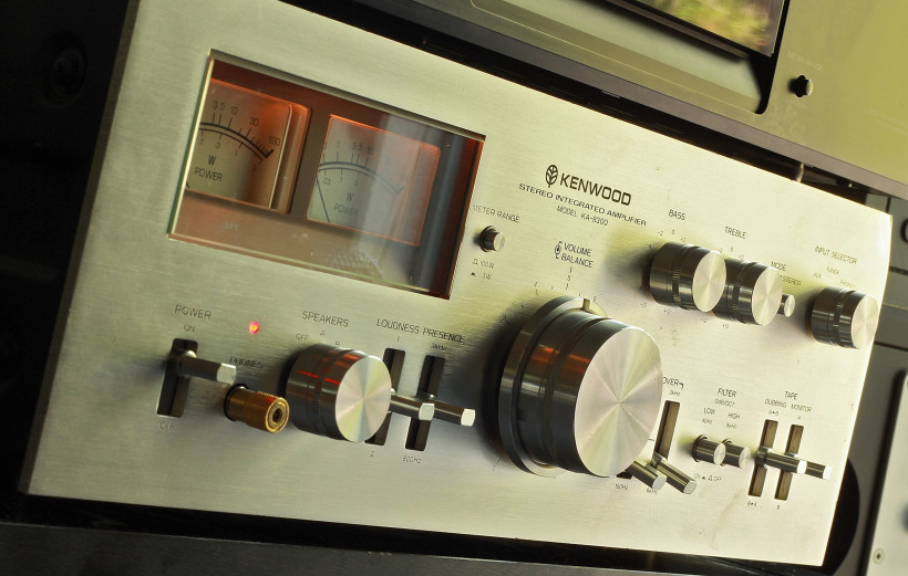 The Kenwood KA-8300