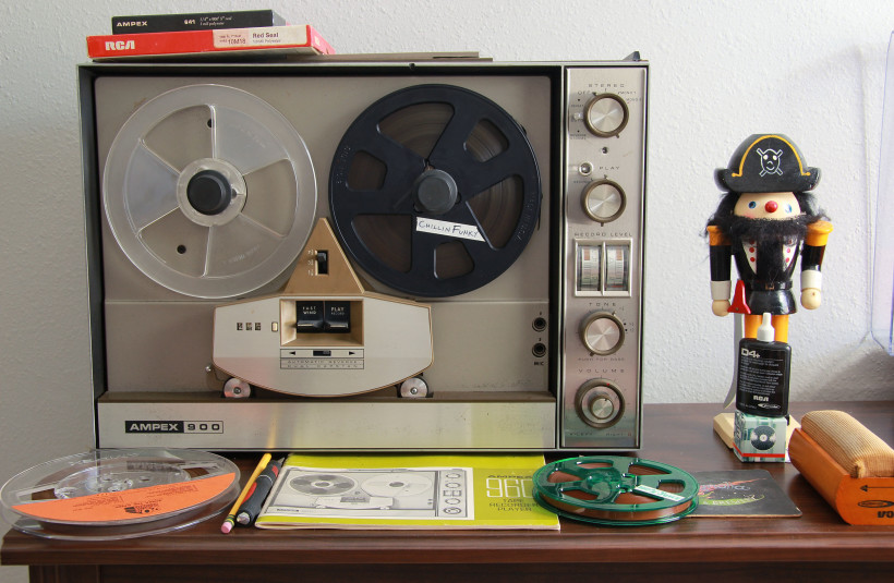 Ampex 900 Reel to Reel vintage audio