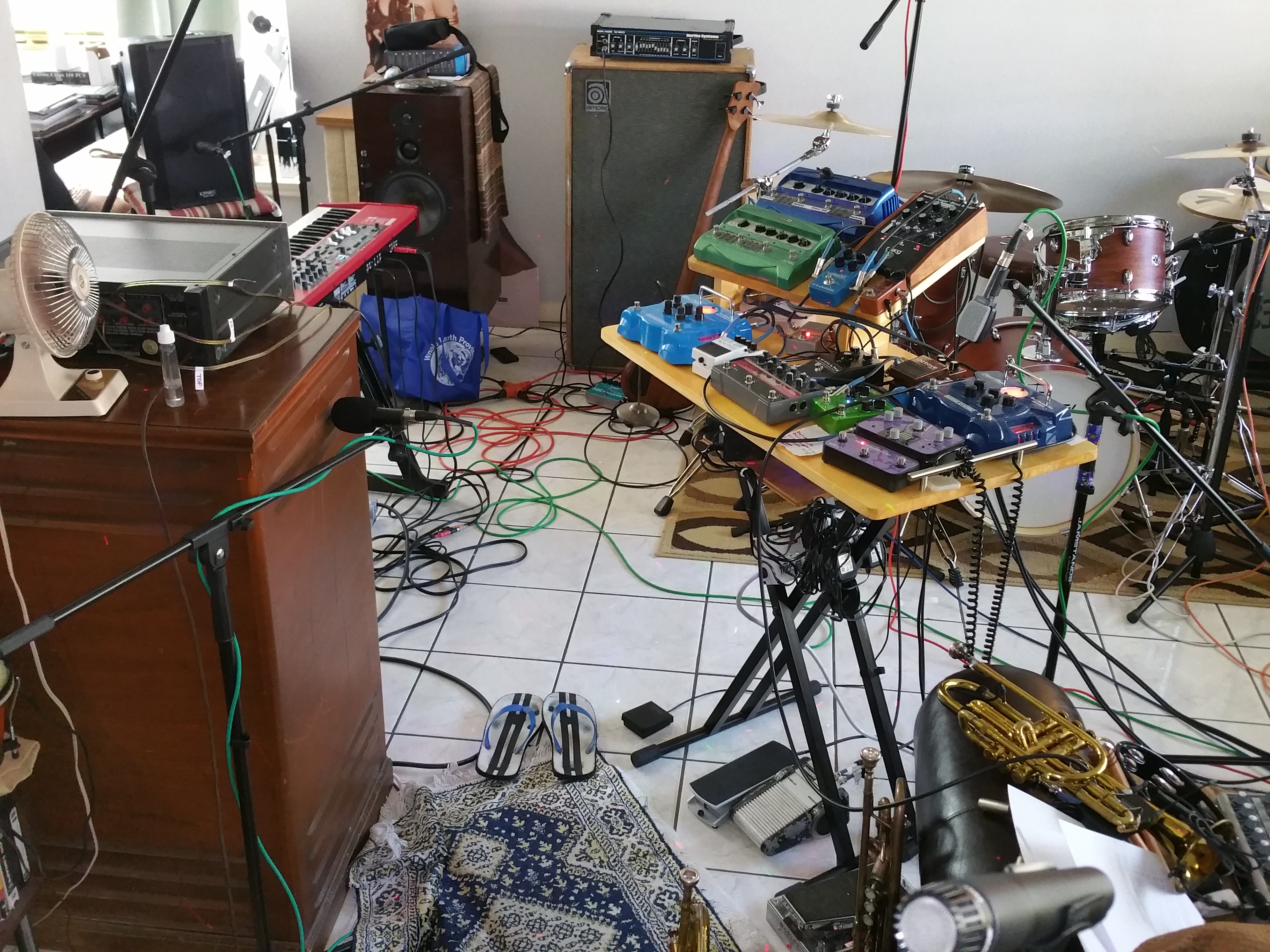 Electric Trumpet Pedalboard Snapshot 3 29 16 Microcosmologist Wiring A Pedal Board