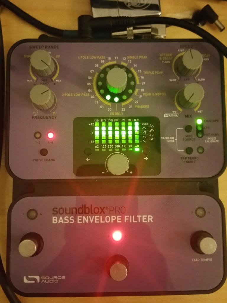 Source Audio SA143 Pro Bass Envelope filter