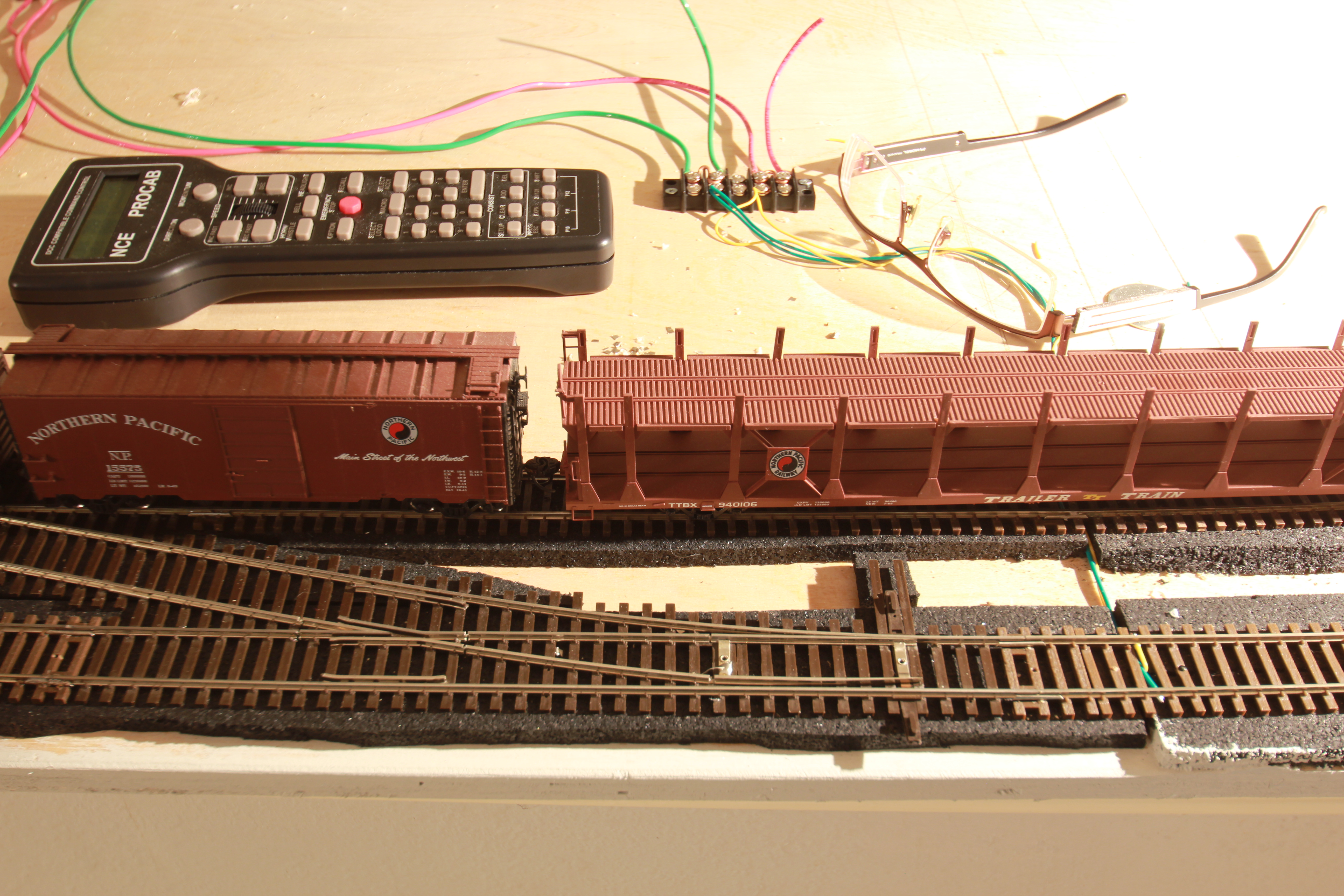 Trains Microcosmologist Dcc Track Wiring Wye Shinohara 6 Turnouts Cut For